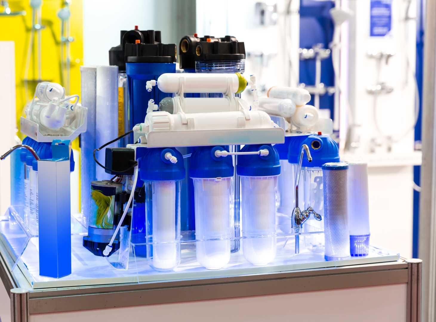 tecniche filtrazione acqua